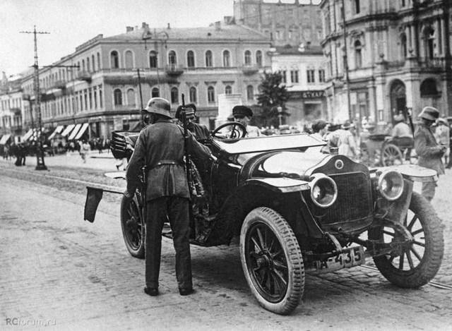 1918. Minerva KX 26 л.с. Германская окупация. Киев.