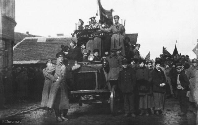 1917. Pierce-Arrow R-8. Рига.
