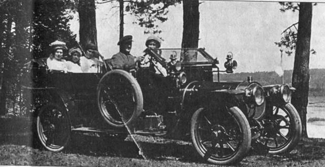 1914. Делоне-Бельвиль купца В. А. Горохова .Бердск Тобольская губерния.