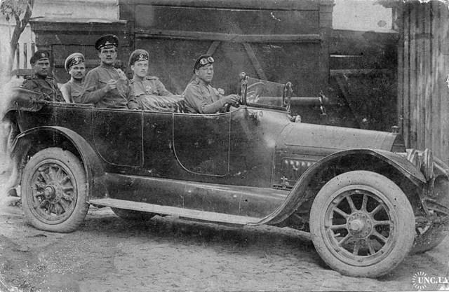 1914-1917. Бенц в РИА.
