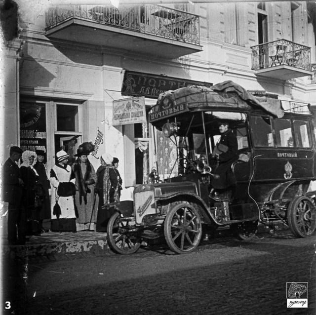1909. Омнибус SAG-Gaggenau C28-36 В.Л. Жернакова в Ялте.