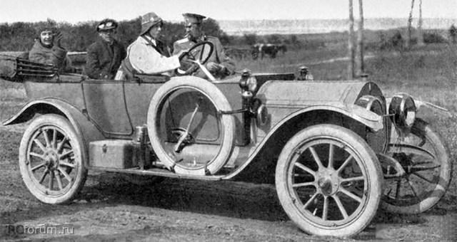 1912. Case 30 HP. Автопробег Одесса - Севастополь - Одесса.