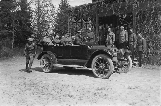 1914-1917. Case в Русской Императорской Армии