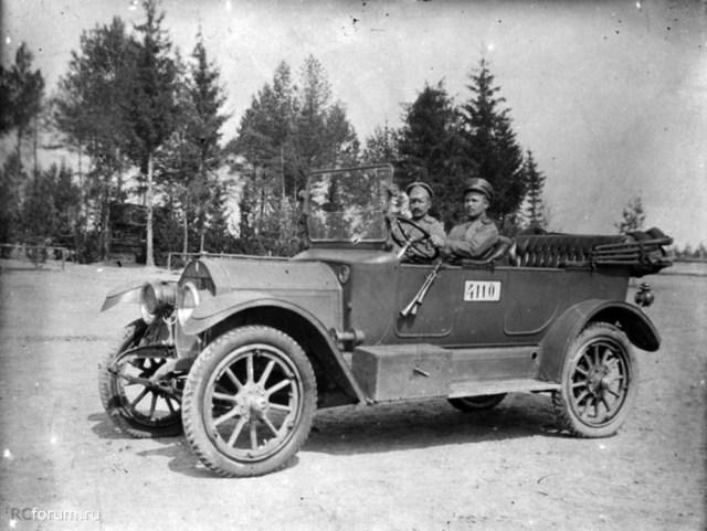 1915. Case 30 HP в Русской Императорской Армии. Лифляндская губерния.
