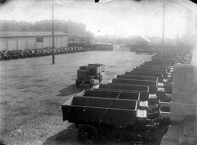 1916. Поставки западной автотехники в годы Первой мировой войны. Американский полноприводный грузовик Jeffery Quad.