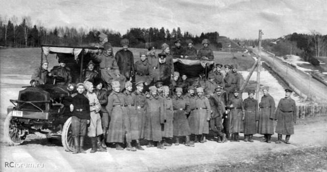 1917. Packard 3-D в Русской Императорской Армии.