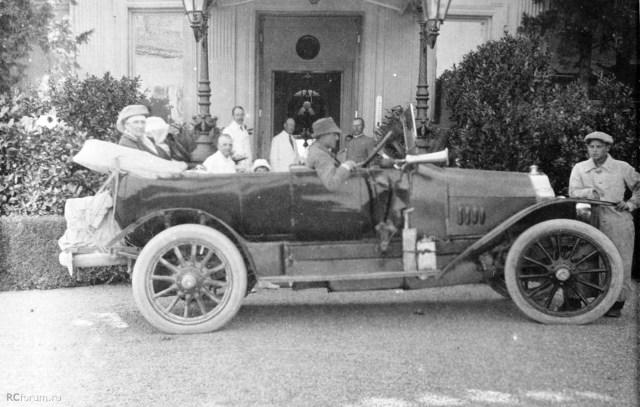 1914. Автомобиль Минерва. Крым.