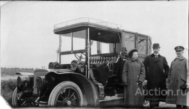 1914. Автомобиль Адлер в России.