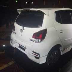 Harga New Agya Trd All Alphard 2017 Indonesia Toyota Selisih Rp 20 Juta Inilah Perbedaan Tipe G Dengan Tampilan Bumper Belakang Juga Dibuat Berbeda Standar Selain Itu Model Dilengkapi Wing Spoiler