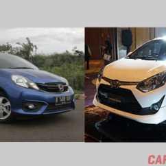 New Agya G Vs Trd Oli Transmisi Grand Avanza Inilah Perbandingan Dimensi Fitur Dan Harga Toyota Brio Satya E Cvt