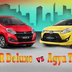 New Agya G Vs Trd Bodykit All Kijang Innova Perbandingan Fitur Toyota 1 2 Daihatsu Ayla R Deluxe