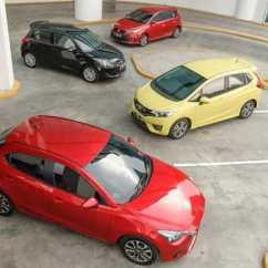 Toyota Yaris Trd Vs Honda Jazz Rs All New Camry Commercial Komparasi Compact Hatchback Sportivo Mazda2 Gt