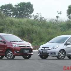 Grand New Veloz Vs Mobilio Rs Cvt Avanza Black Versus Honda E Prestige Facelift Toyota 1 5 A T