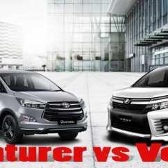 New Venturer Vs Innova Corolla Altis Diesel Automatic Komparasi Harga Mesin Dan Ground Clearance Toyota Voxy