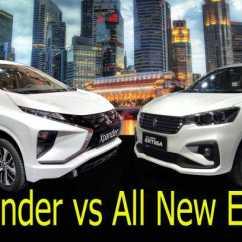 New Ertiga Vs Grand Veloz All Alphard Harga Plus Minus Mitsubishi Xpander Suzuki Lebih Besar Dimensi Tapi