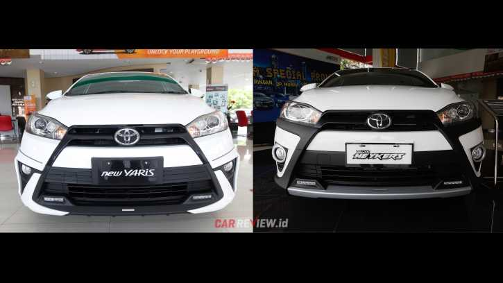 toyota yaris trd heykers stop lamp grand new avanza komparasi sportivo vs car review indonesia