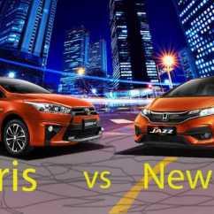Toyota Yaris Trd Vs Honda Jazz Rs All New Innova Venturer Interior Komparasi Facelift Persaingan Abadi Semakin Seru