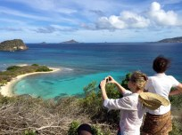 Exploring Carriacou island with isle of reef tours.