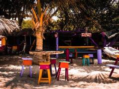Carriacou beach restaurant off de hook.