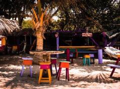 Carriacou beach restaurant off de hook.