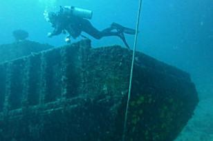 Boris wreck at Mabouya.