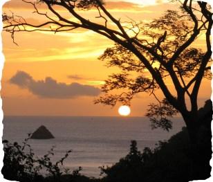 Carriacou sunset.