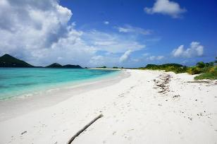Carriacou has the best beaches.