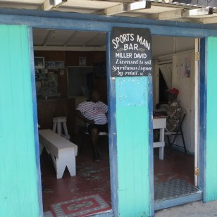 The sportsman bar on Carriacou.