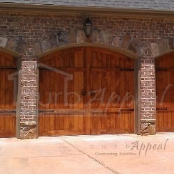 composite  Carriage Garage Doors For Atlanta Ga