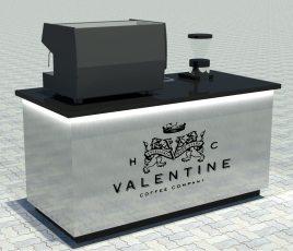 H.C Valentine Coffee Company Design Concept