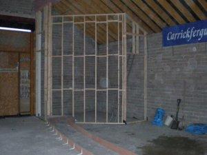 Sanctuary stage walls