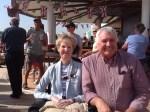 Margaret & Michael on board Ventura:Lisbon