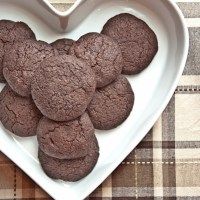 Dark Chocolate Espresso Cookies