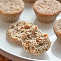 Apricot Cardamom Muffins
