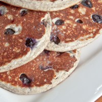 Vanilla Blueberry Pancakes