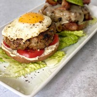 Super Mother Clucker Burgers