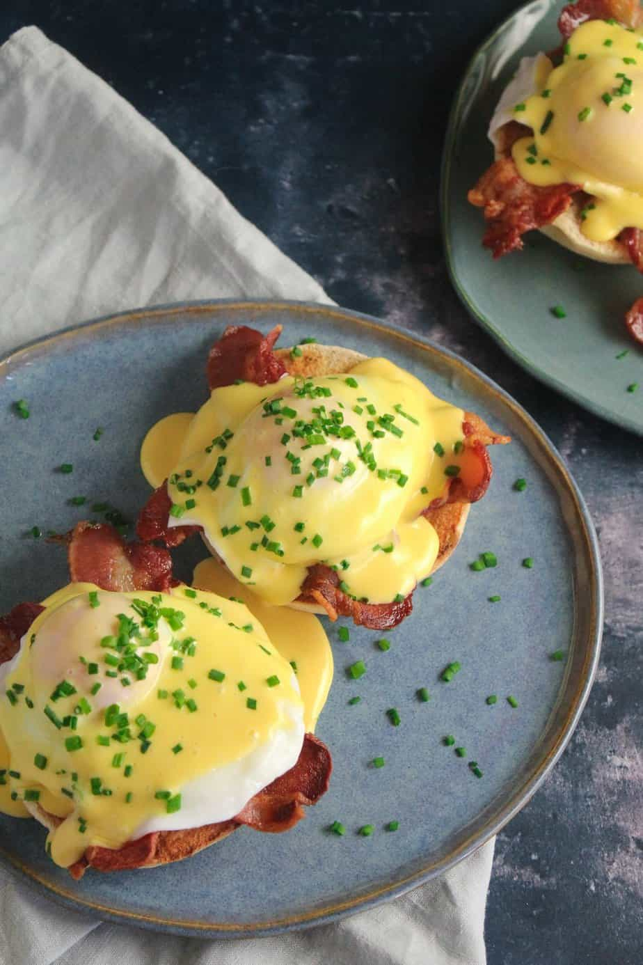 Easy Eggs Benedict with Quick Hollandaise