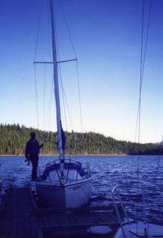 28 Sep 1999 Captain Chris and Blue Moon