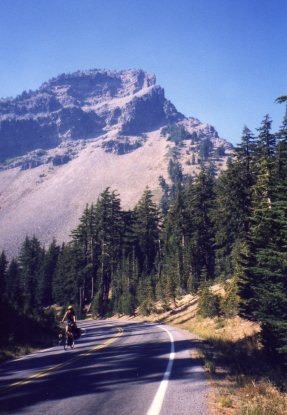 4 Oct 1999 Applegate Peak Uphill, Crater Lake