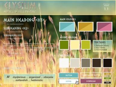 Elysium Music Festival - Style Tile