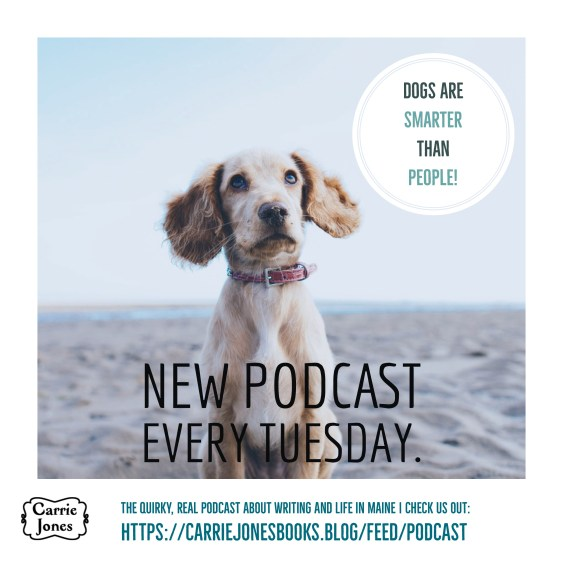 Dogs are smarter than people - the podcast, writing tips, life tips, quirky humans, awesome dogs
