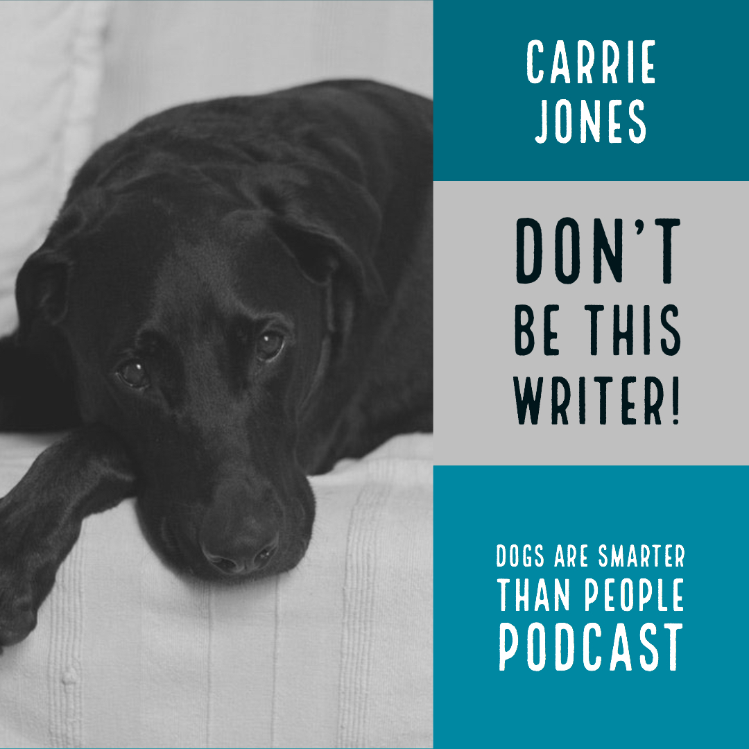 "Dogs Are Smarter Than People the Podcast, ""DON'T BE THIS WRITER!"""