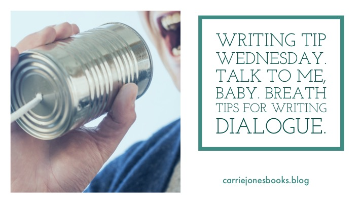 Talk to Me, Baby! Dialogue Help on Writing Tip Wednesday