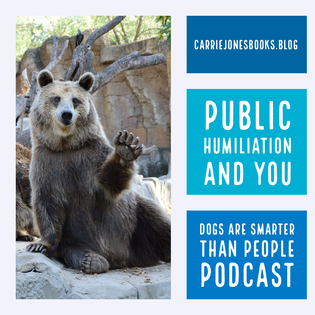 Public Humiliation and Us – Dogs are Smarter Than People Podcast or Should We Say Pod-cat?