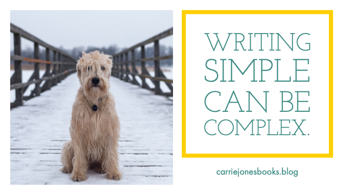 Writing simple can be complex