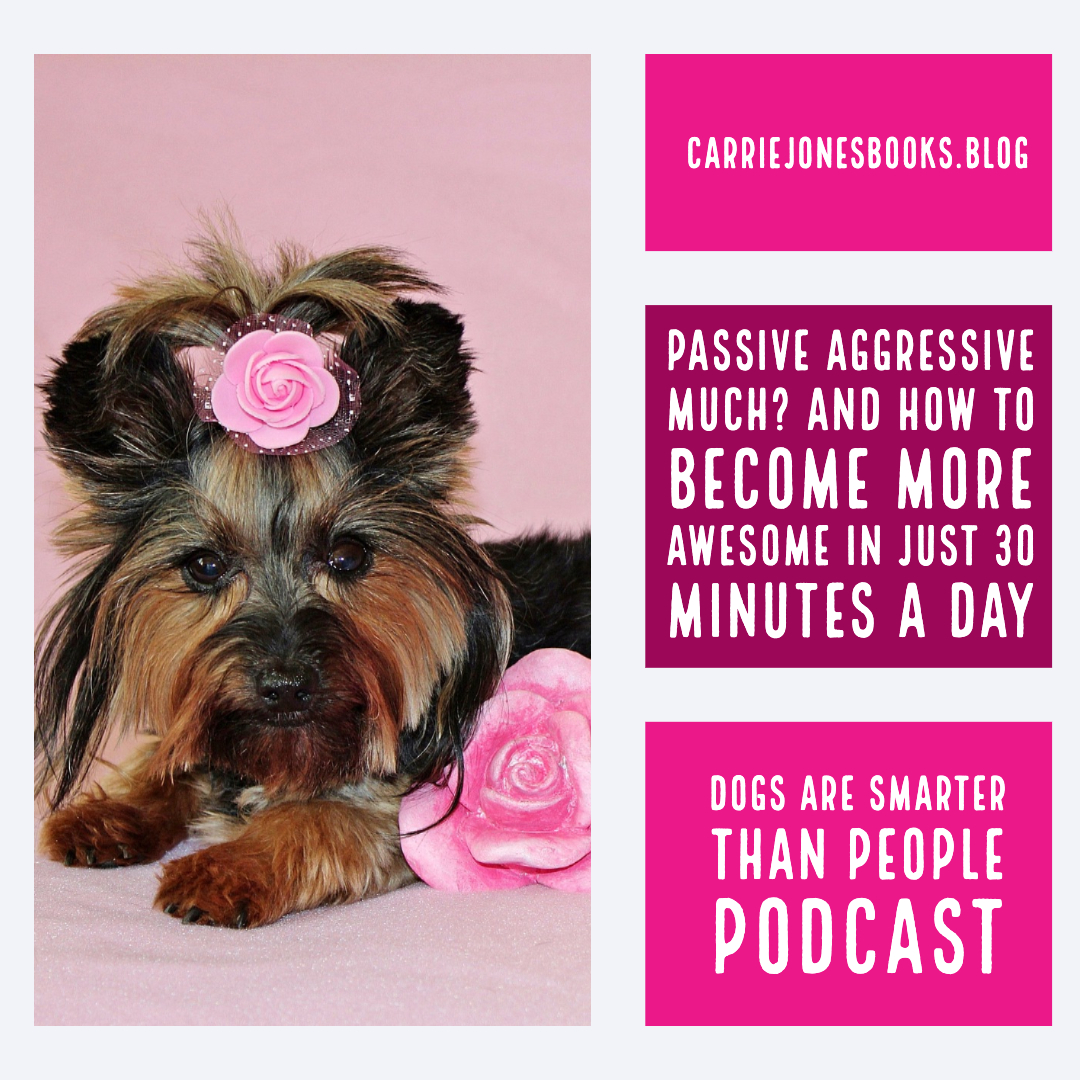 Passive Aggressive Much? And How to Become More Awesome in Just 30 Minutes a Day