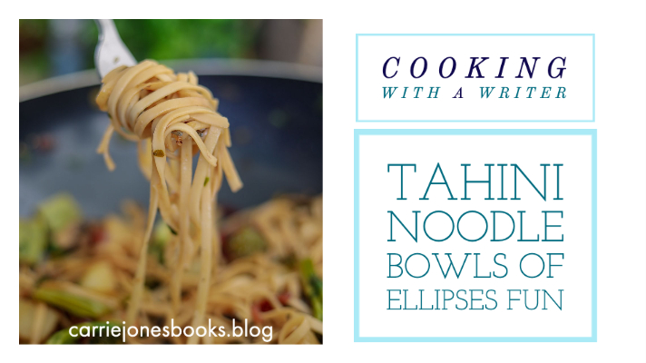 TAHINI NOODLE BOWLS OF ELLIPSES FUN