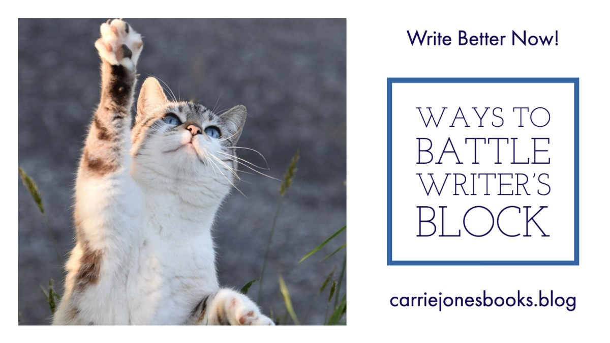 Ways to Battle Writer's Block