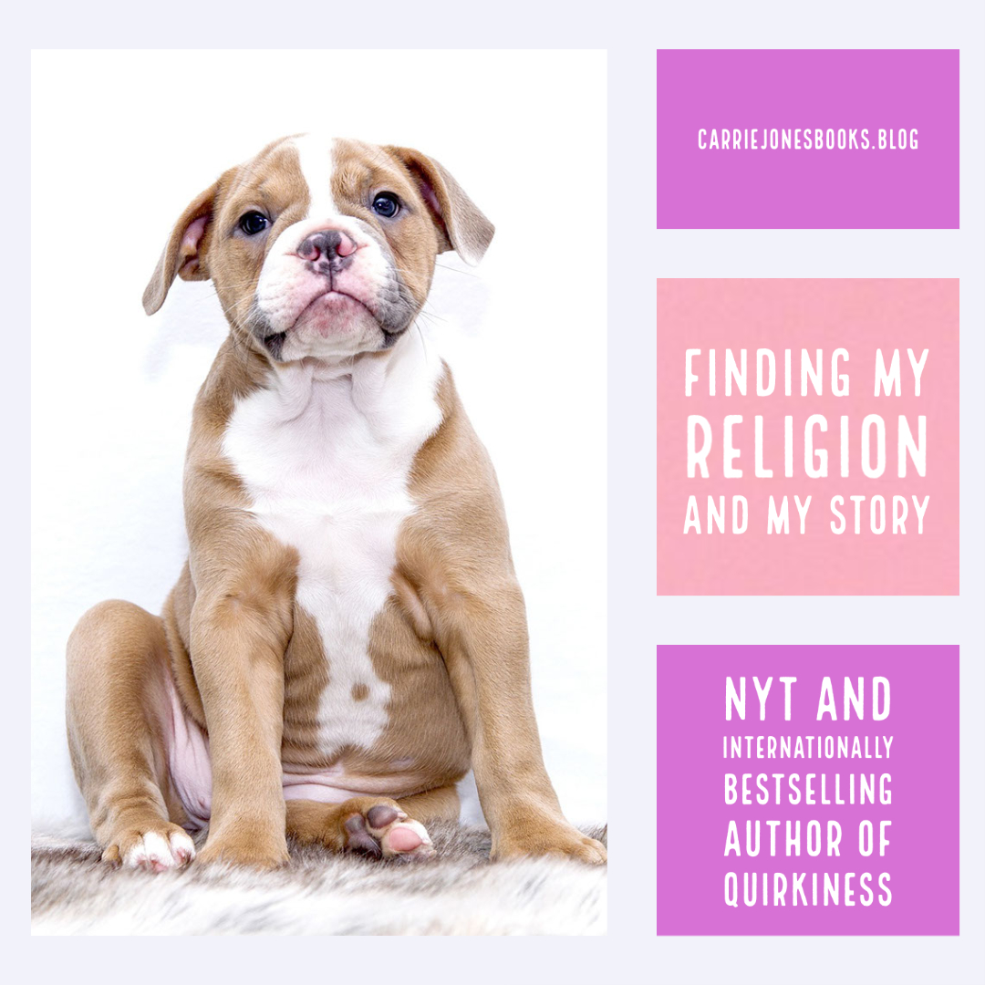 Finding My Religion and My Story