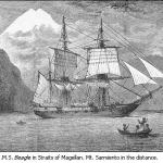 HMS_Beagle_in_Straits_of_Magellan